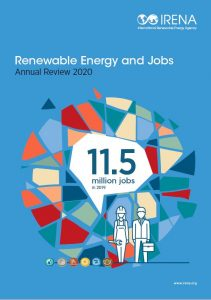 Renewable Energy and Jobs Annual Review 2020 IRENA