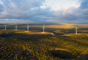 Financial Times windfarm picture