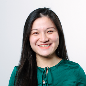Headshot of Shirley Huang