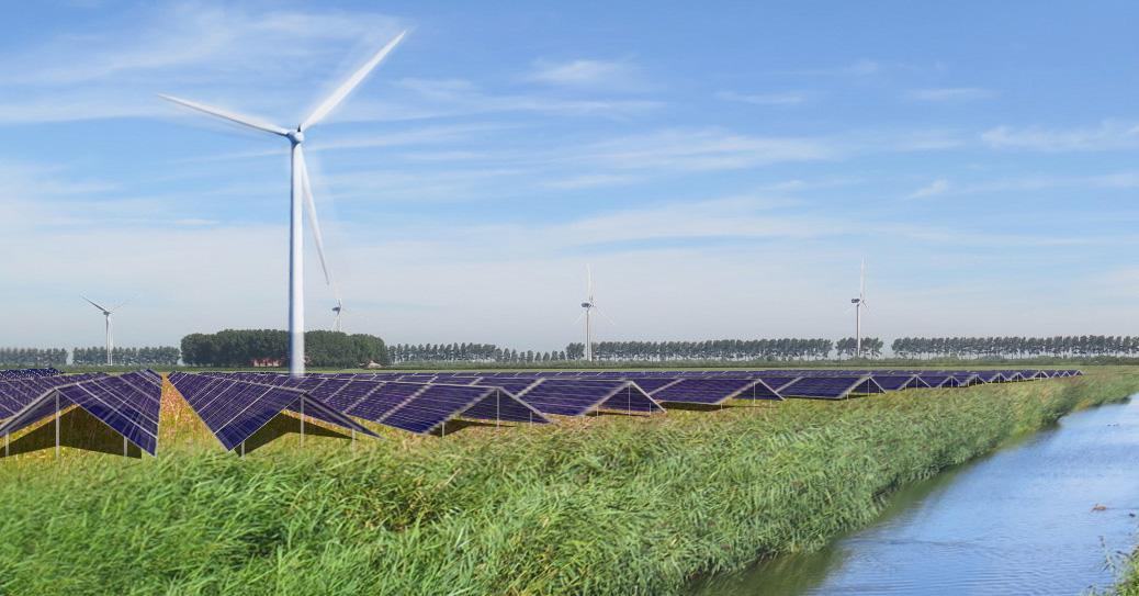 Vattenfall's new hybrid energy park combines wind, solar and batteries